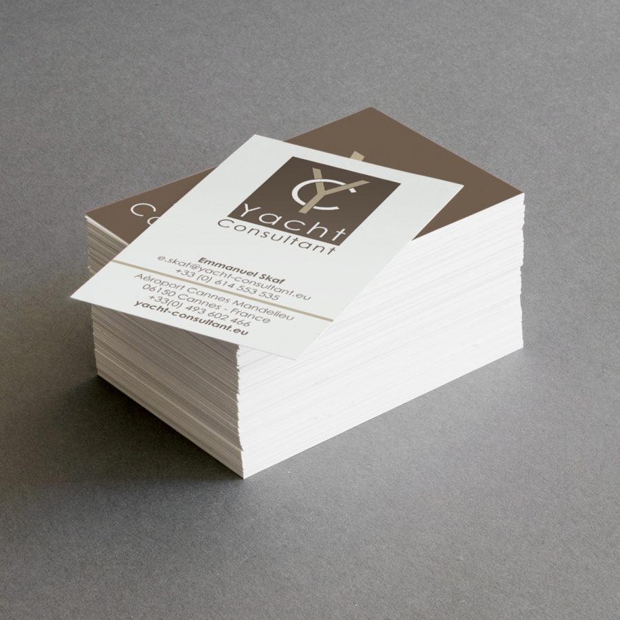 Refonte du logo et création des cartes de visite