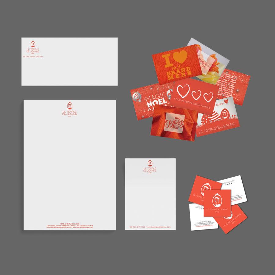 Création du logo à partir de gravures