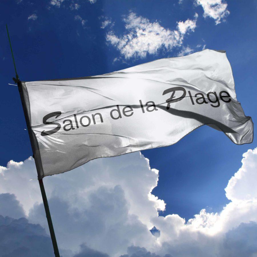 DRAPEAU SALON DE LA PLAGE