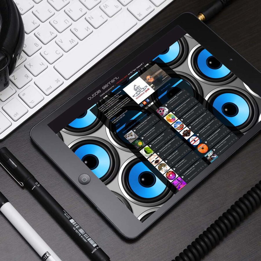 MONSIEUR JACK DJ MIX IPAD