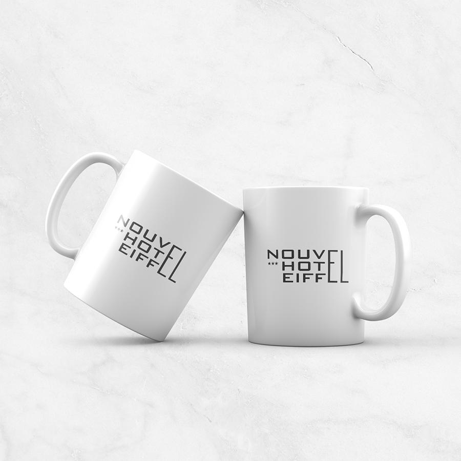 NOUVEL HOTEL EIFFEL MUG B