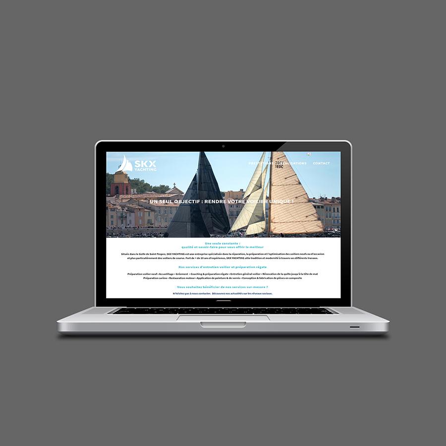 optimisation du nouveau site web